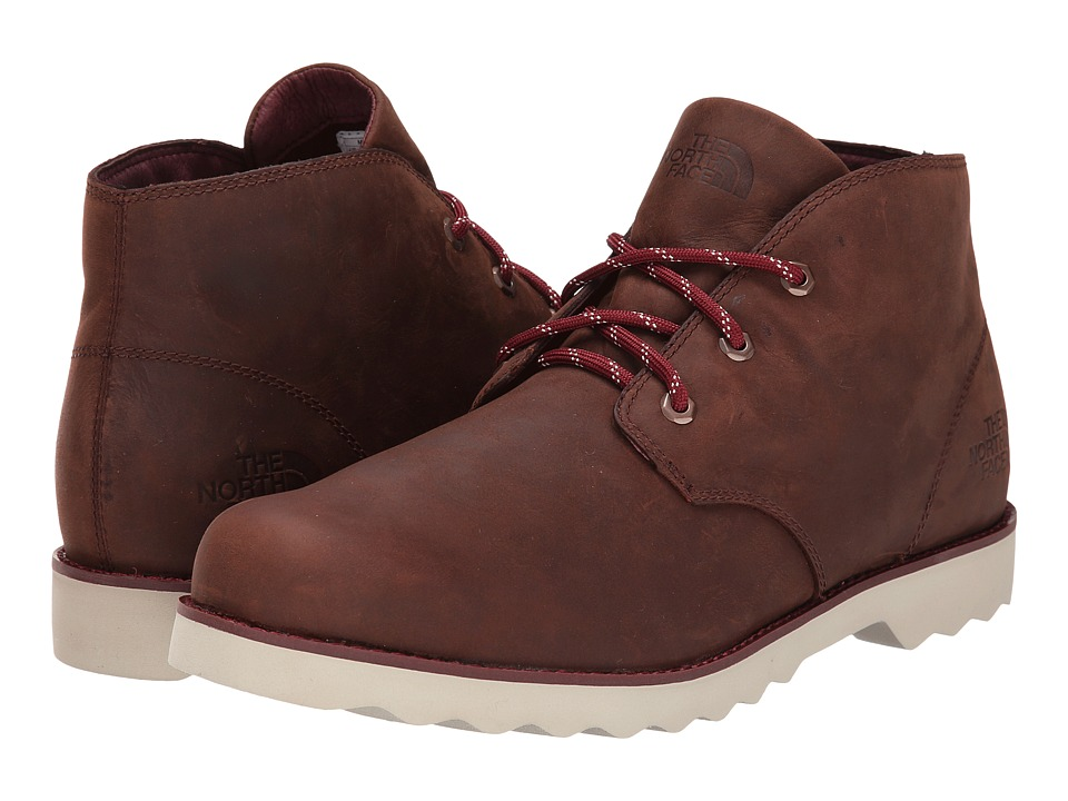 The North Face - Ballard II Chukka (Chutney Brown/Cherry Stain Brown) Men's Lace-up Boots