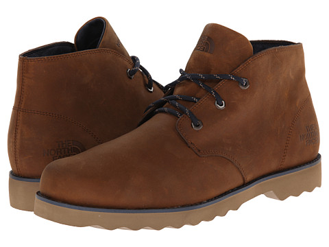 The North Face - Ballard II Chukka (Museum Brown/Cosmic Blue) Men's Lace-up Boots