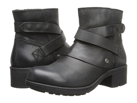 Clarks - Mansi Calla (Black Leather) Women's Boots