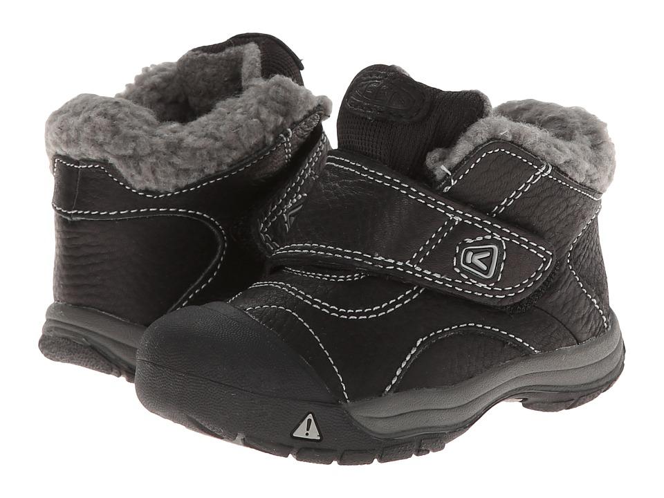 Keen Kids Kootenay (Toddler) (Black/Neutral Gray) Kids Shoes