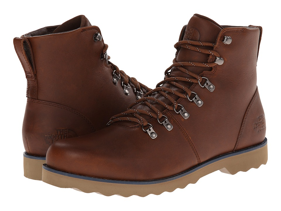 The North Face - Ballard II (Museum Brown/Cosmic Blue) Men's Lace-up Boots