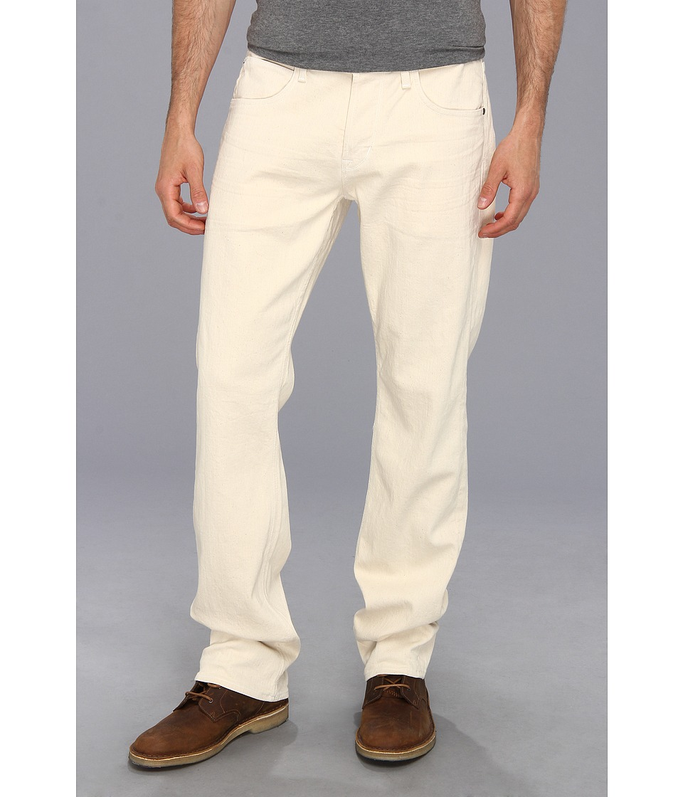 Hudson - Byron Five-Pocket Straight in Ecru (Ecru) Men