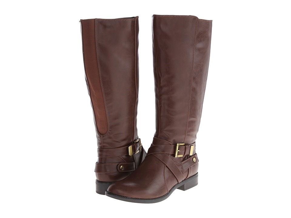 LifeStride Racey (Wide Shaft) (Brown Linz) Women