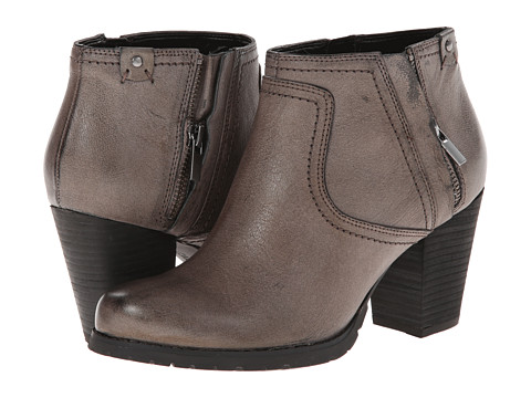 Clarks - Mission Halle (Grey Leather) Women