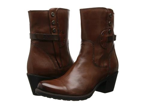 Clarks - Maymie Skye (Cognac Leather) Women