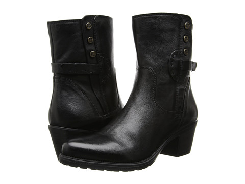 Clarks - Maymie Skye (Black Leather) Women's Boots
