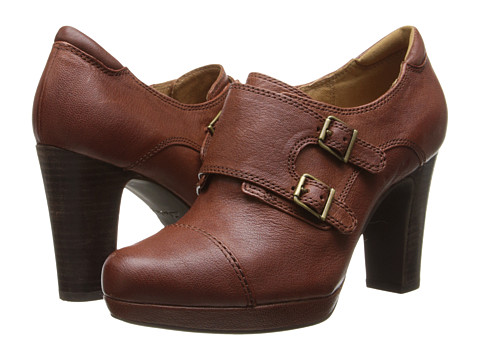 Clarks - Flyrt Fancy (Cognac Leather) High Heels