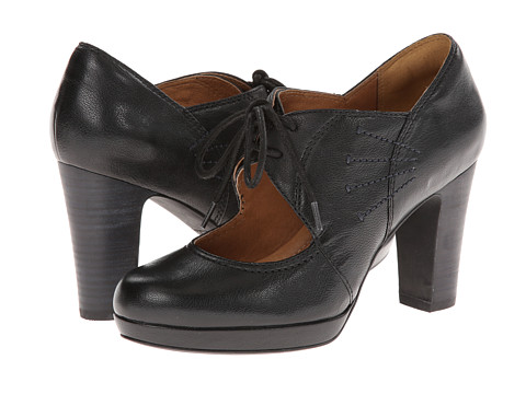 Clarks - Flyrt Dally (Black Leather) High Heels