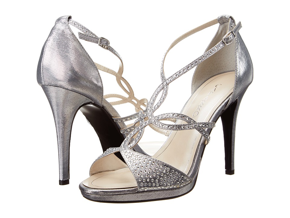 Caparros - Nixie (Silver Lame) Women's Dress Sandals