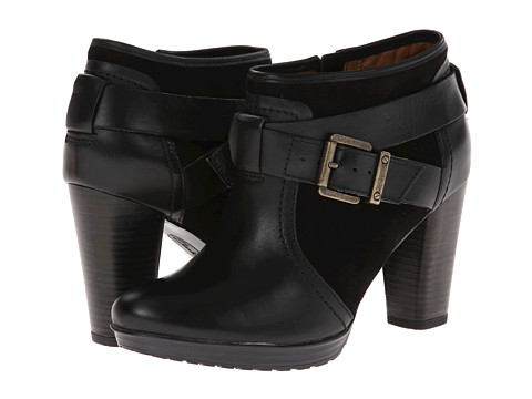 Clarks - Lida Dallas (Black Leather) High Heels