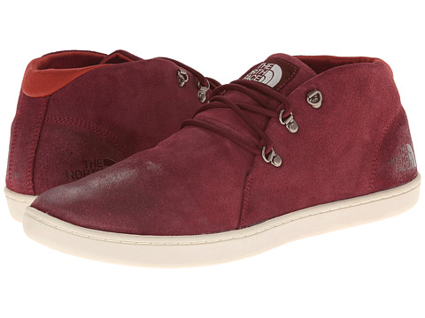 The North Face - Base Camp Leather Chukka (Cherry Stain Brown/Vintage White) Men