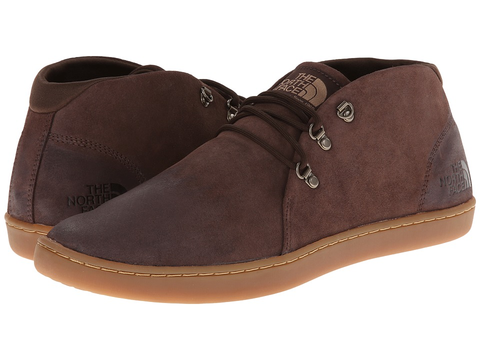 The North Face - Base Camp Leather Chukka (Demitasse Brown/Moab Khaki) Men's Shoes