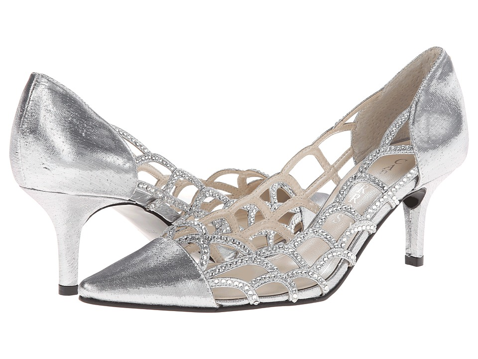 Caparros - Noreen (Silver Lame) High Heels