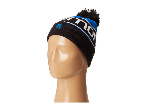 Salomon - Junior Logo Beanie (Black) Beanies