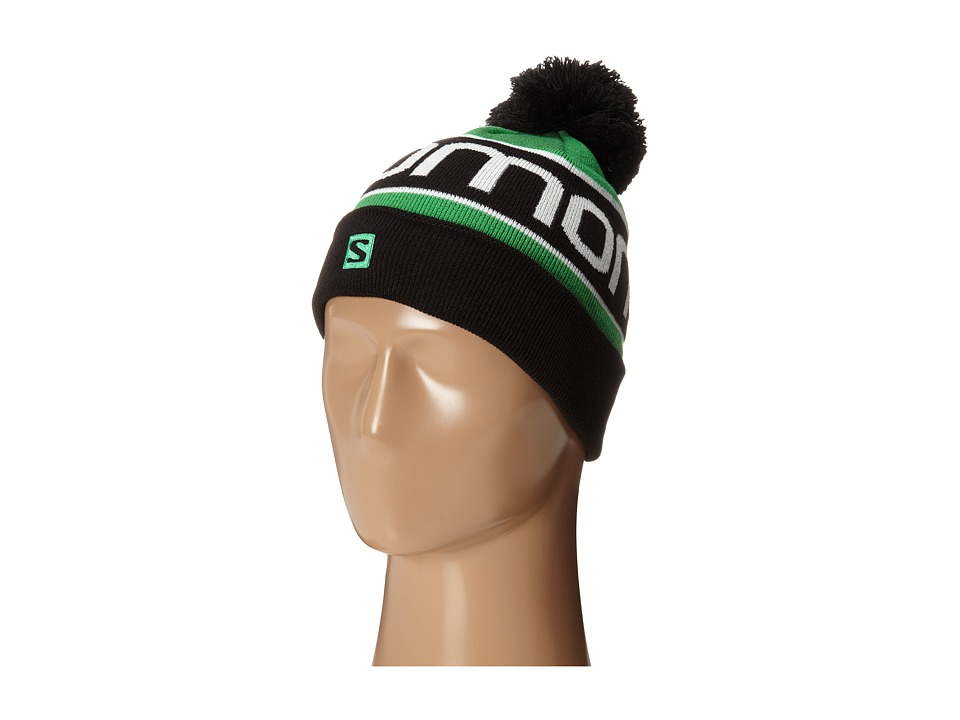 Salomon - Junior Logo Beanie (Black 1) Beanies