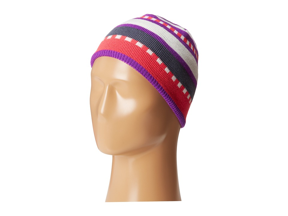 Salomon - Junior Stripe Beanie (Little Violette) Beanies
