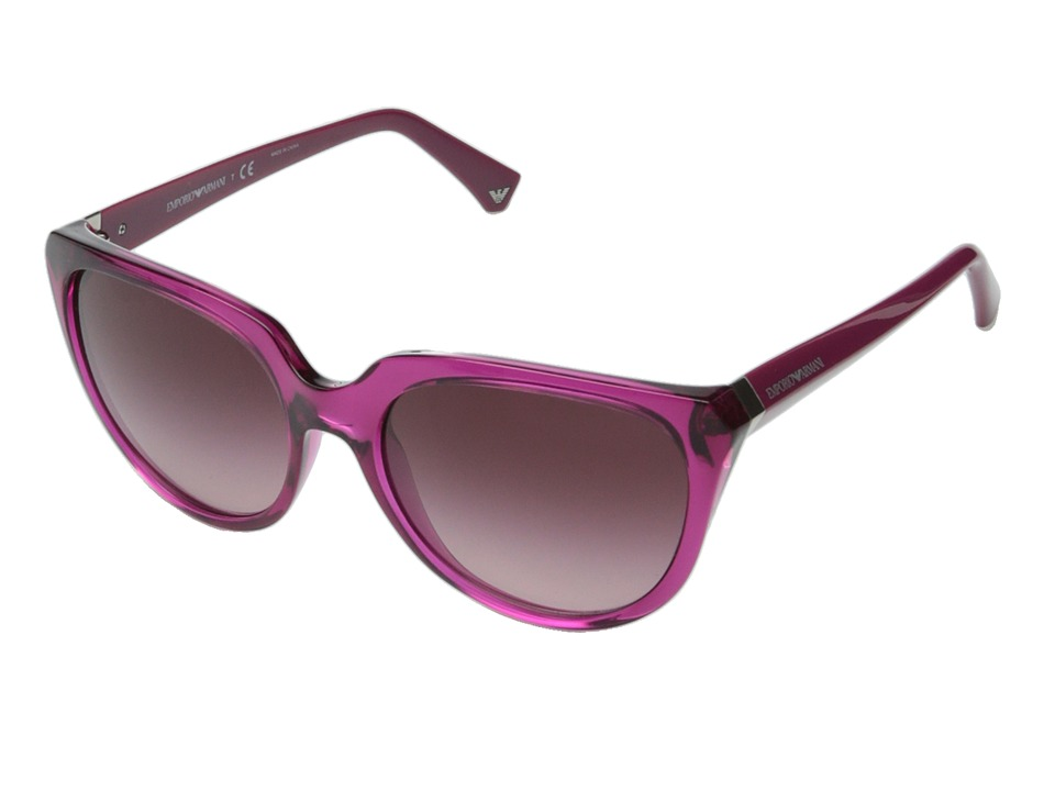Emporio Armani - 0EA4027 (Cyclamen/Violet Gradient) Fashion Sunglasses