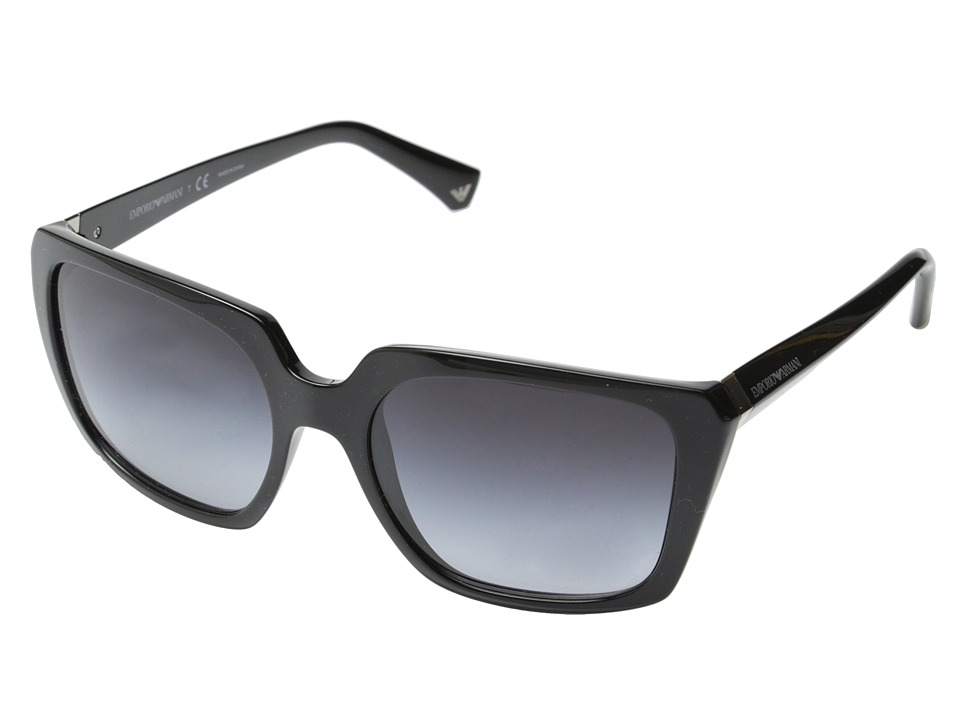 Emporio Armani - 0EA4026 (Black/Grey Gradient) Fashion Sunglasses