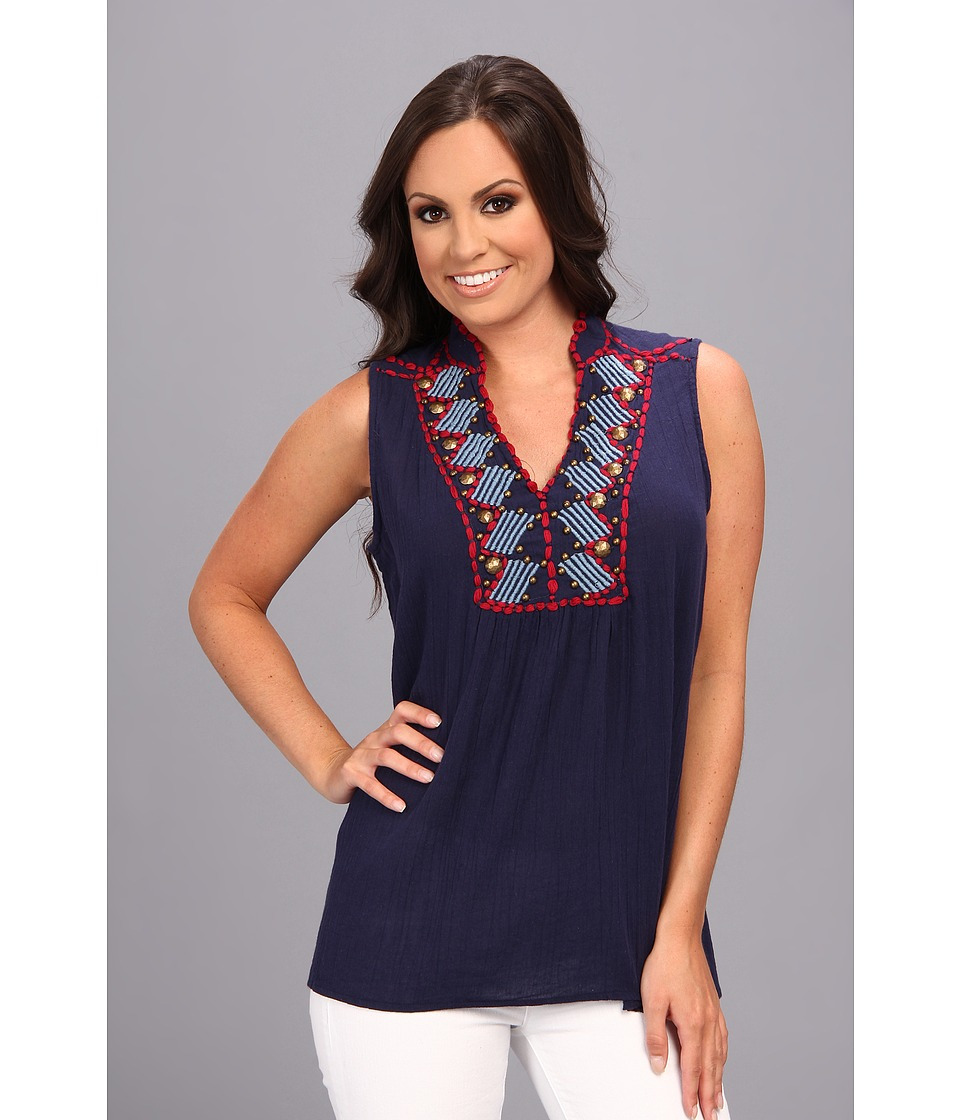 Double D Ranchwear - Chimayo Top (Midnight Mariachi) Women