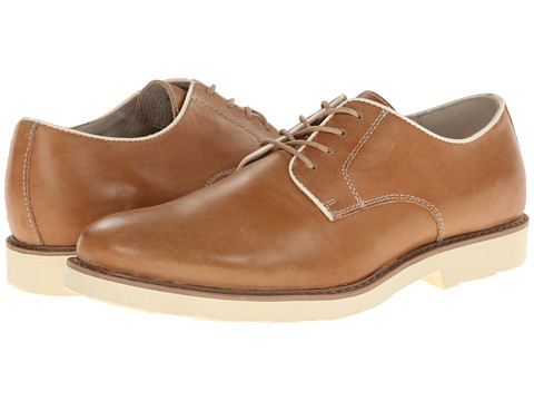 GBX - 4 Eye Plain Toe Pipe (Tan) Men's Plain Toe Shoes