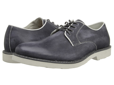 GBX - 4 Eye Plain Toe Pipe (Charcoal) Men