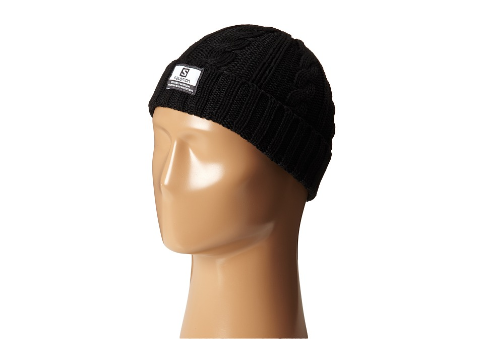 Salomon - Casual Beanie (Black) Beanies