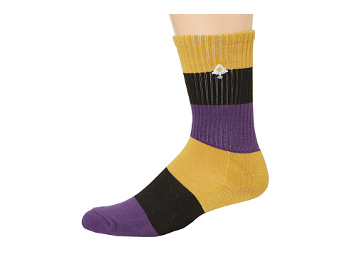 L-R-G - Colors Of Seasons Crew Sock (Black) Men