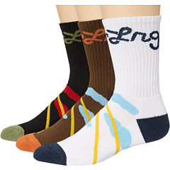 SALE! $16.99 - Save $7 on L R G Lion Rock Crew Sock (Multi Color) Footwear - 29.21% OFF $24.00