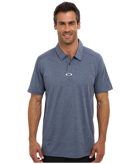 Oakley - Newlyn Polo (Dark Blue) Men's Short Sleeve Knit