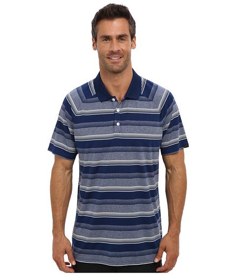 Oakley - Warren Polo (Dark Blue) Men's Short Sleeve Pullover