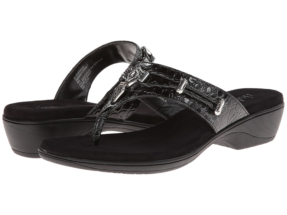 Rialto - Kismet (Black Exotic) Women's Sandals
