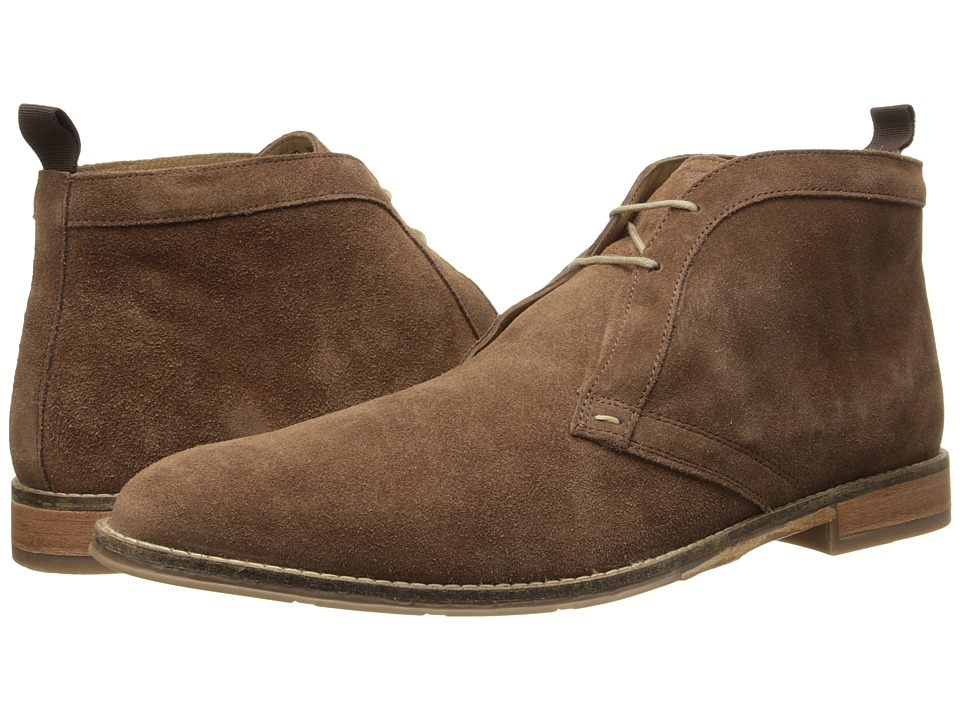 Hush Puppies - Style Chukka PL (Brown Suede) Men