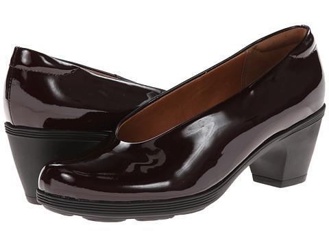 Clarks - Brigita Divine (Burgundy Patent Leather) Women