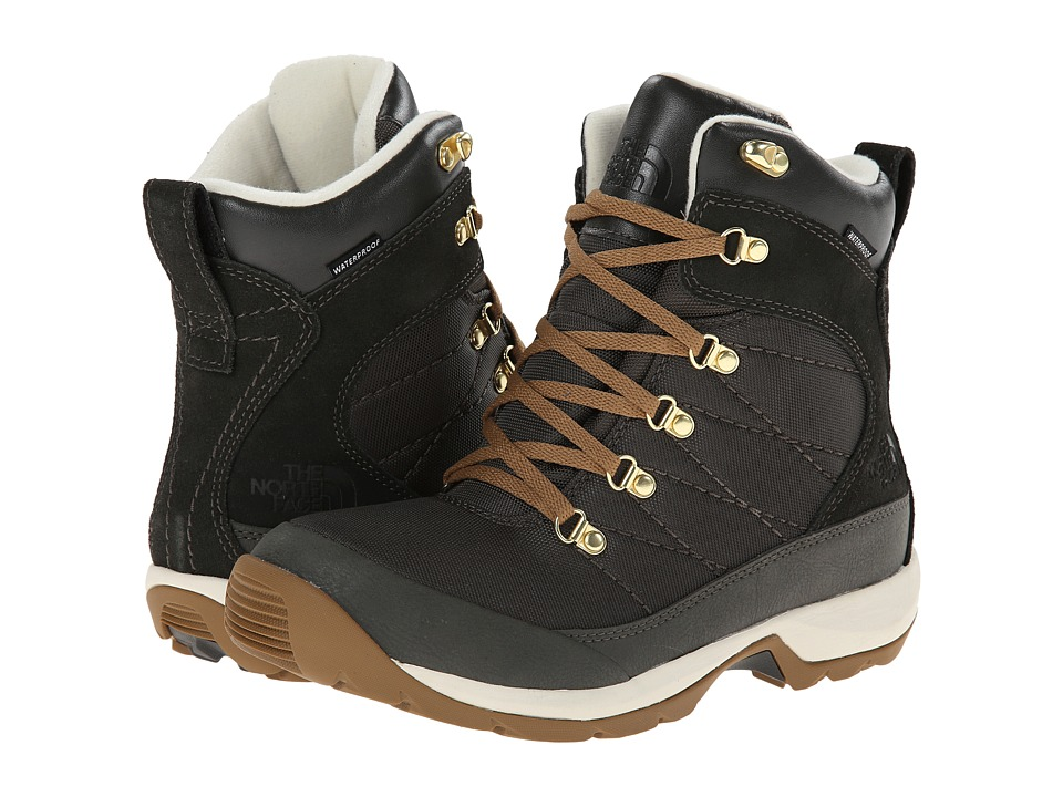 The North Face - Chilkat Nylon (Black Ink Green/Utility Brown) Women's Boots
