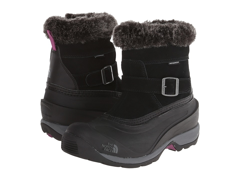 The North Face - Chilkat III Pull-On (TNF Black/Dark Purple) Women