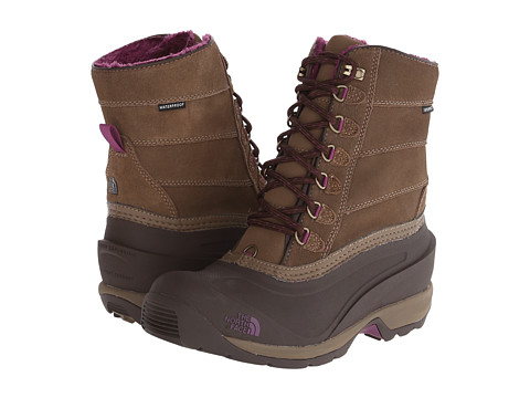 The North Face - Chilkat III Removable (Cub Brown/Dark Purple) Women's Cold Weather Boots