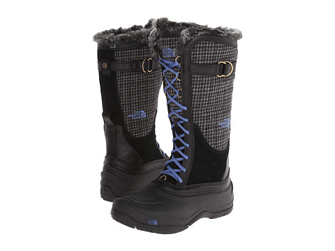 The North Face - Shellista Lace Luxe (TNF Black/Dutch Blue) Women's Cold Weather Boots