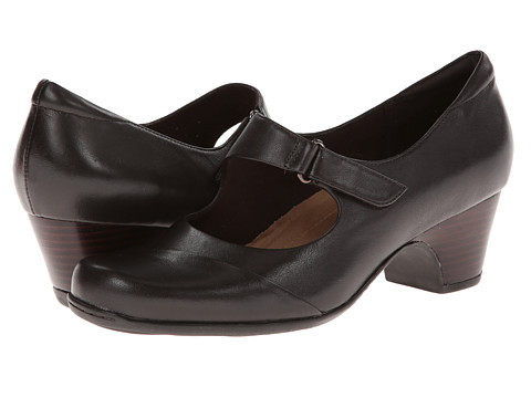 Clarks - Sugar Palm (Dark Brown Leather) High Heels