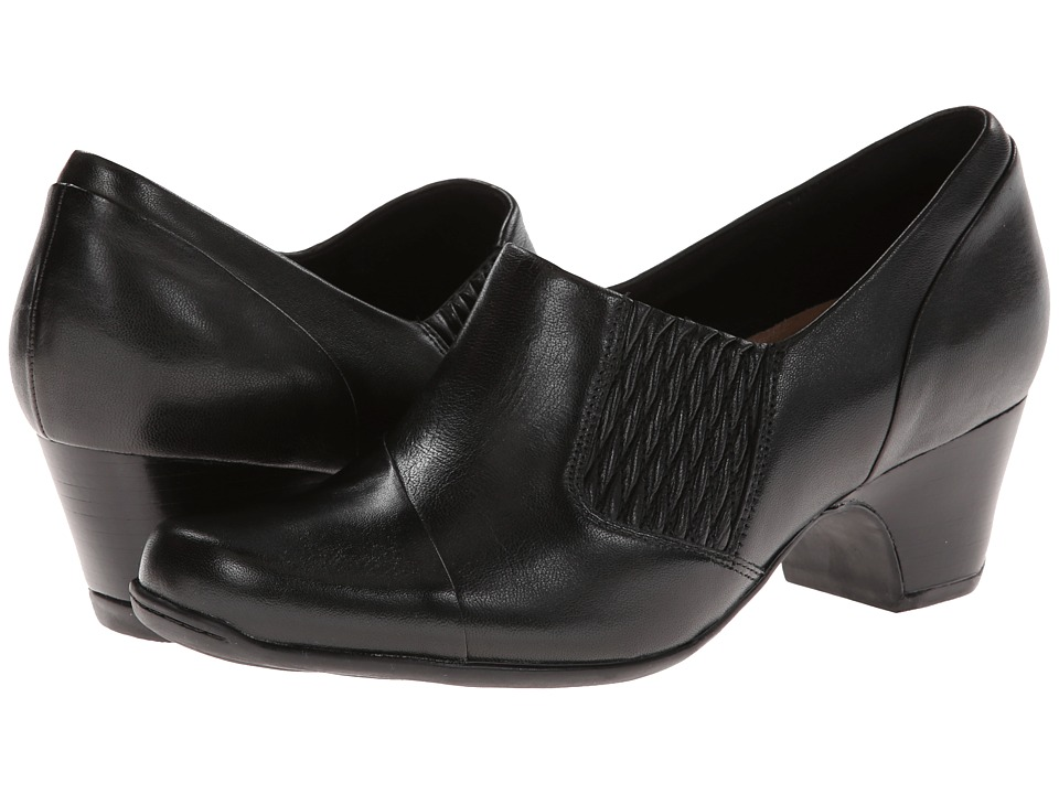 Clarks - Sugar Maple (Black Leather) Women