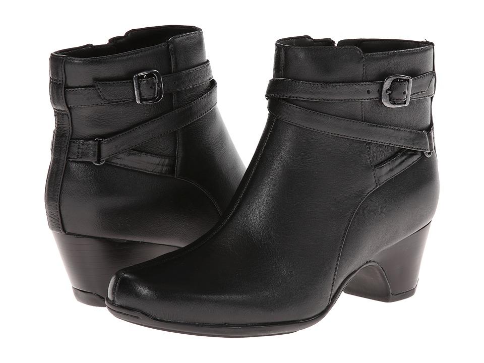 Clarks - Leyden Summit (Black Leather) Women