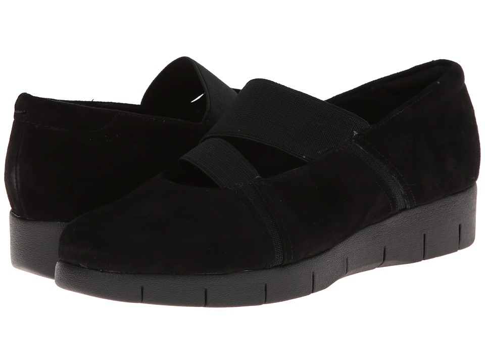 Clarks - Daelyn Villa (Black Suede) Women