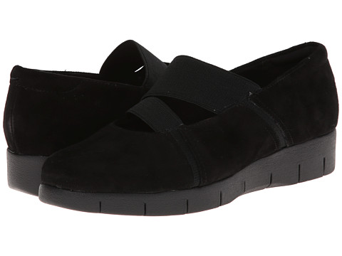 Clarks - Daelyn Villa (Black Suede) Women's Shoes