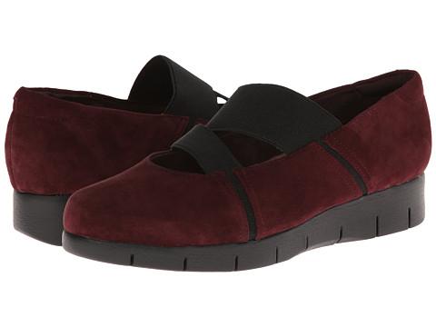 Clarks - Daelyn Villa (Burgundy Suede) Women's Shoes
