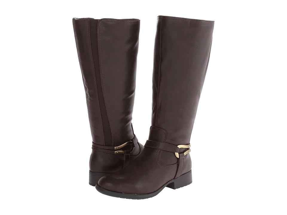 LifeStride - Xena (Wideshaft) (Dark Brown Rengo) Women's Boots