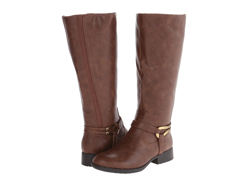 LifeStride - Xena (Wideshaft) (Mid Brown Rengo) Women