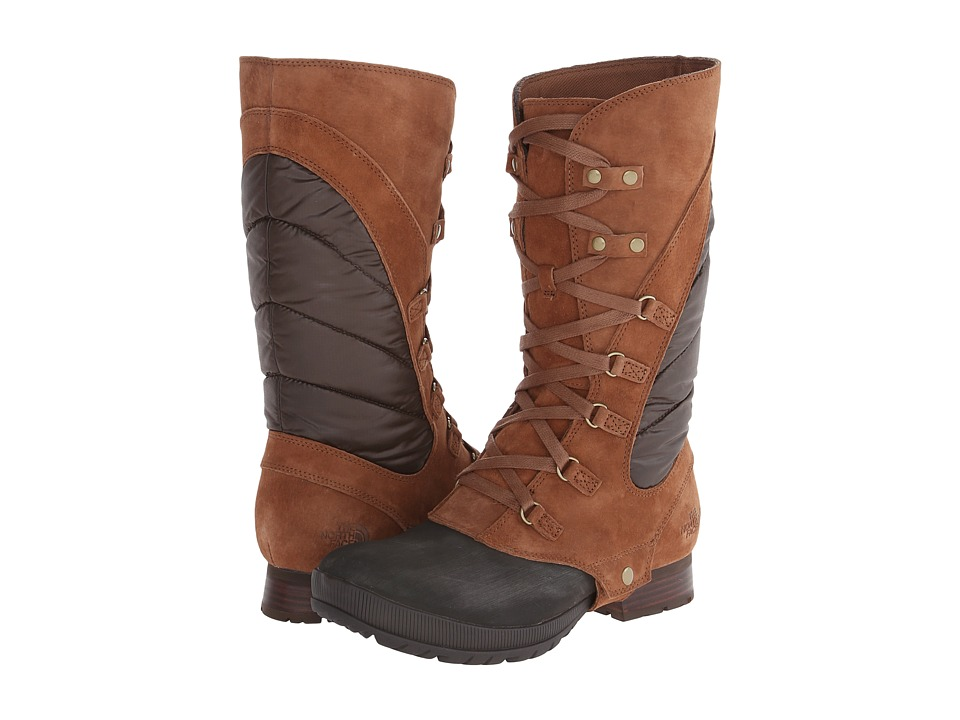 The North Face - Zophia Tall (Dachshund Brown/Demitasse Brown) Women's Boots