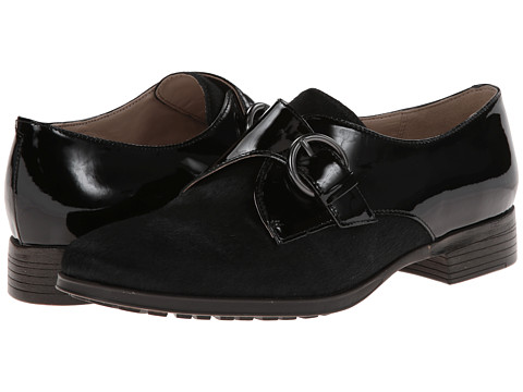 Clarks - Busby Jazz (Black Interest Leather) Women's Shoes