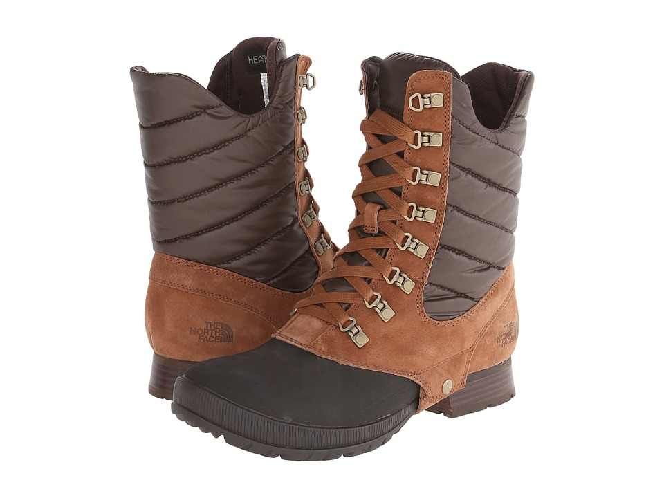 The North Face - Zophia Mid (Dachshund Brown/Demitasse Brown) Women's Boots