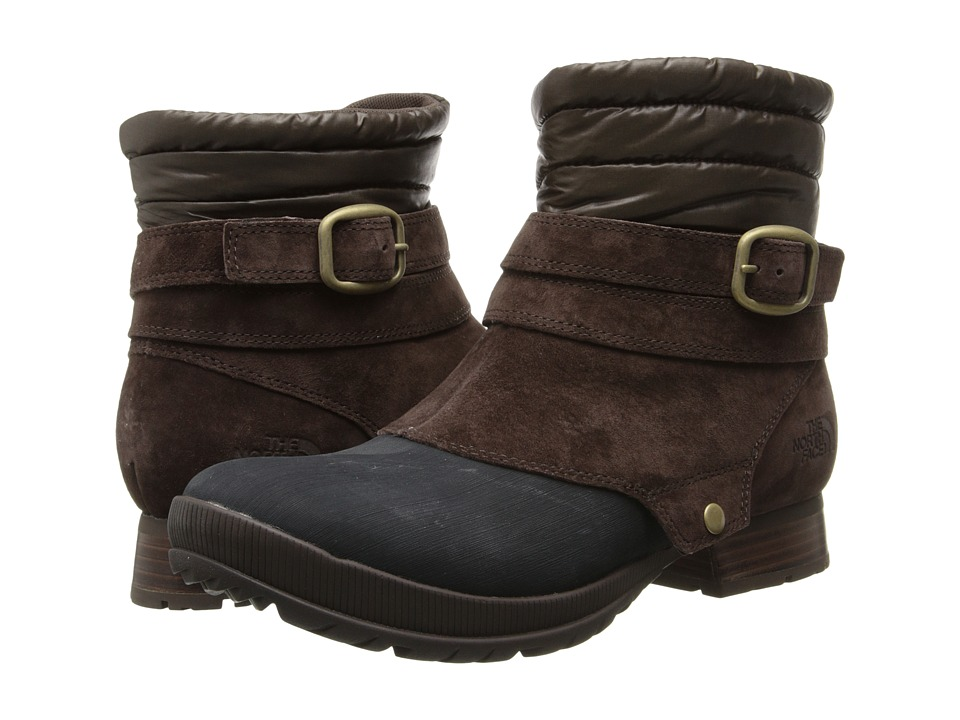The North Face - Zophia Bootie (Demitasse Brown/TNF Black) Women