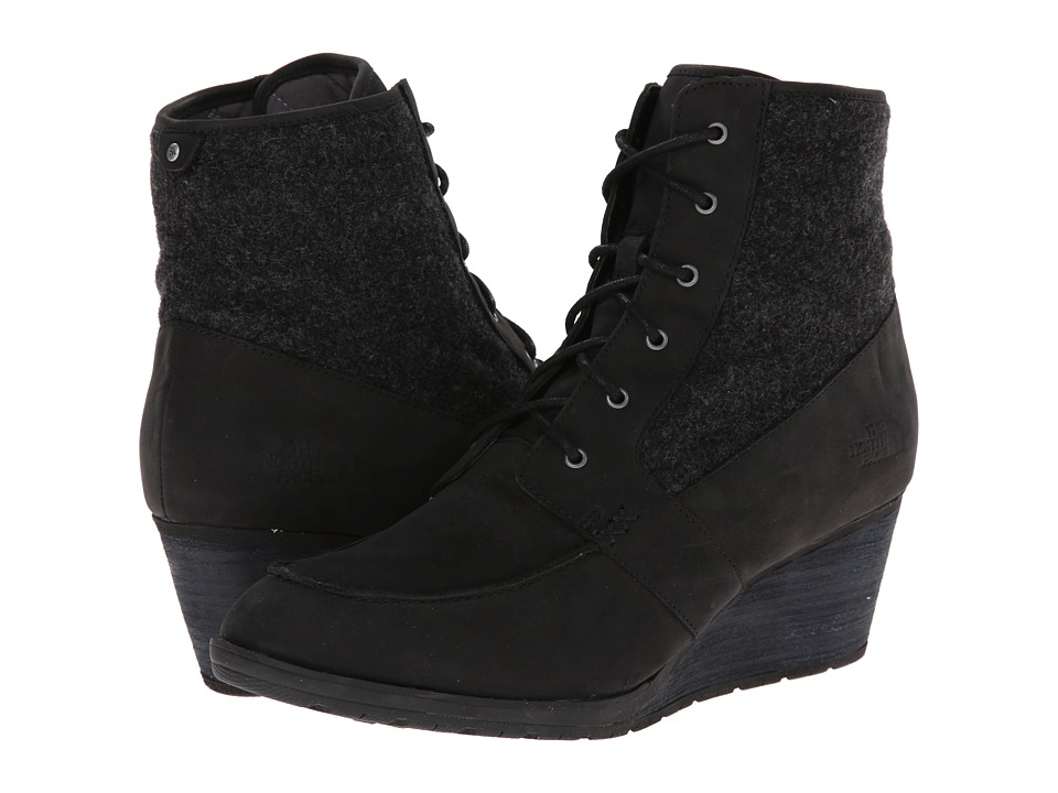 The North Face - Bridgeton Wedge Lace (TNF Black/TNF Black) Women